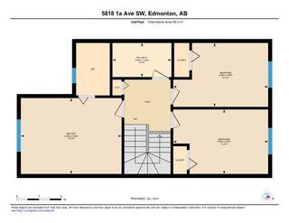 Photo 34: 5818 1A Avenue in Edmonton: Zone 53 House Half Duplex for sale : MLS®# E4195933