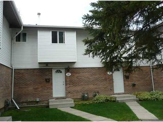 Photo 1: 95 5103 35 Avenue SW in CALGARY: Glenbrook Townhouse for sale (Calgary)  : MLS®# C3489714