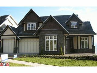"Photo 1: 2672 PLATINUM Lane in Abbotsford: Abbotsford East House for sale in ""EAGLE MOUNTAIN"" : MLS®# F1129272"