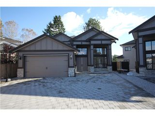 Photo 1: 12448 FLURY Drive in Richmond: East Cambie House for sale : MLS®# V1031269