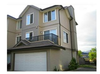 """Photo 1: 20 2488 PITT RIVER Road in Port Coquitlam: Mary Hill Townhouse for sale in """"NEW CASTLE ESTATES"""" : MLS®# V1106167"""