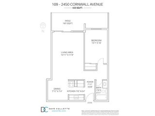 "Photo 20: 109 2450 CORNWALL Avenue in Vancouver: Kitsilano Condo for sale in ""The Ocean's Door"" (Vancouver West)  : MLS®# V1119389"