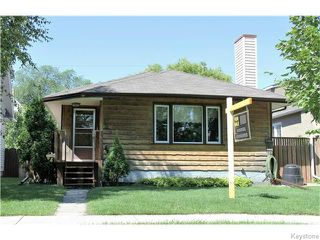 Photo 1: 150 Garfield Street South in Winnipeg: Wolseley Residential for sale (5B)  : MLS®# 1620531