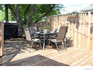 Photo 16: 150 Garfield Street South in Winnipeg: Wolseley Residential for sale (5B)  : MLS®# 1620531