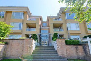 "Photo 1: 308 2340 HAWTHORNE Avenue in Port Coquitlam: Central Pt Coquitlam Condo for sale in ""Barrington Place"" : MLS®# R2268764"