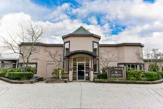 "Photo 1: 103 74 RICHMOND Street in New Westminster: Fraserview NW Condo for sale in ""Governors Court"" : MLS®# R2384201"
