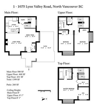 """Photo 20: 1 1075 LYNN VALLEY Road in North Vancouver: Lynn Valley Townhouse for sale in """"RIVER ROCK 2"""" : MLS®# R2427663"""