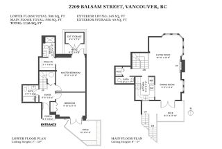 Photo 14: 2209 BALSAM Street in Vancouver: Kitsilano Townhouse for sale (Vancouver West)  : MLS®# R2441675
