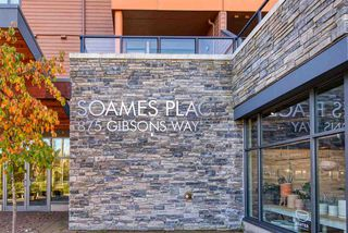 """Photo 1: 404 875 GIBSONS Way in Gibsons: Gibsons & Area Condo for sale in """"Soames Place"""" (Sunshine Coast)  : MLS®# R2511351"""