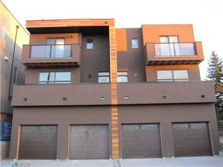 Main Photo: 1712 35 Avenue SW in Calgary: Altadore_River Park Townhouse for sale : MLS®# C3485016