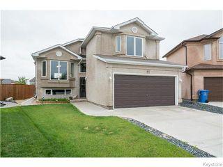 Photo 1: 27 Goldfinch Way in WINNIPEG: Fort Garry / Whyte Ridge / St Norbert Residential for sale (South Winnipeg)  : MLS®# 1522022