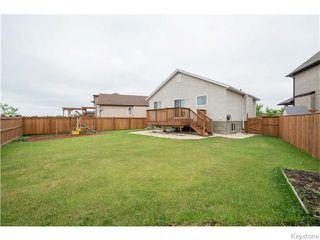 Photo 19: 27 Goldfinch Way in WINNIPEG: Fort Garry / Whyte Ridge / St Norbert Residential for sale (South Winnipeg)  : MLS®# 1522022