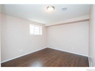 Photo 15: 27 Goldfinch Way in WINNIPEG: Fort Garry / Whyte Ridge / St Norbert Residential for sale (South Winnipeg)  : MLS®# 1522022