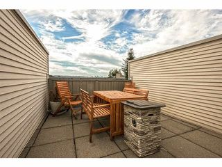 "Photo 16: 71 202 LAVAL Street in Coquitlam: Maillardville Townhouse for sale in ""PLACE FOUNTAIN BLUE"" : MLS®# V1141047"