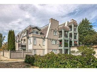 "Photo 1: 71 202 LAVAL Street in Coquitlam: Maillardville Townhouse for sale in ""PLACE FOUNTAIN BLUE"" : MLS®# V1141047"