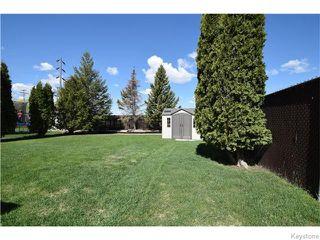 Photo 17: 16 Glencairn Road in Winnipeg: West Kildonan / Garden City Residential for sale (North West Winnipeg)  : MLS®# 1611616
