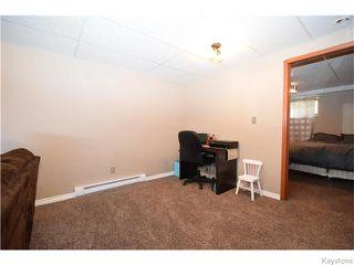 Photo 12: 16 Glencairn Road in Winnipeg: West Kildonan / Garden City Residential for sale (North West Winnipeg)  : MLS®# 1611616