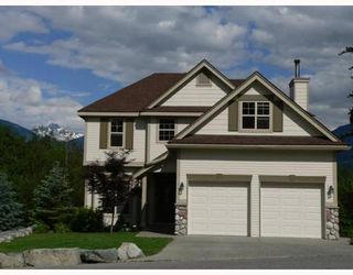 Photo 1: 1741 PINEWOOD Drive in Whistler: Home for sale : MLS®# V748011