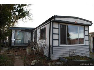 Photo 1: 36 1393 Craigflower Rd in VICTORIA: VR Glentana Manufactured Home for sale (View Royal)  : MLS®# 752982