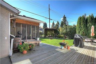Photo 18: 39 Bentwood Bay in Winnipeg: Windsor Park Residential for sale (2G)  : MLS®# 1726687