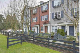 """Photo 1: 19 19538 BISHOPS REACH in Pitt Meadows: South Meadows Townhouse for sale in """"TURNSTONE"""" : MLS®# R2255037"""