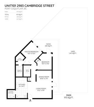 "Photo 20: 101 2983 CAMBRIDGE Street in Port Coquitlam: Glenwood PQ Condo for sale in ""CAMBRIDGE GARDENS"" : MLS®# R2301485"