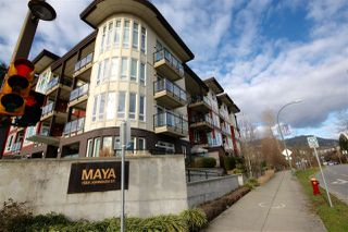 "Photo 1: 108 1188 JOHNSON Street in Coquitlam: Eagle Ridge CQ Condo for sale in ""The Maya"" : MLS®# R2332994"