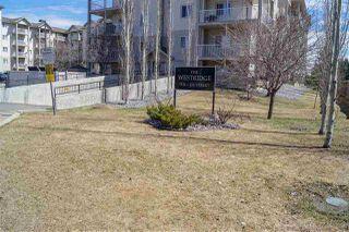 Photo 1: 425 7511 171 Street in Edmonton: Zone 20 Condo for sale : MLS®# E4195632