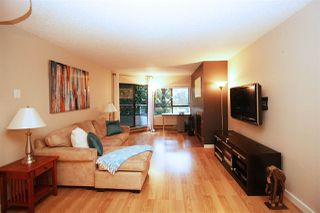 Photo 3: 103 1750 AUGUSTA Avenue in Burnaby: Simon Fraser Univer. Condo for sale (Burnaby North)  : MLS®# R2103118