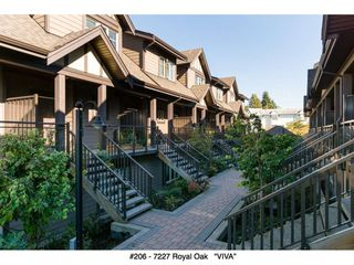 "Photo 34: 206 7227 ROYAL OAK Avenue in Burnaby: Metrotown Townhouse for sale in ""Viva"" (Burnaby South)  : MLS®# R2216874"
