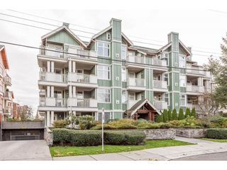 "Photo 1: 304 15350 16A Avenue in Surrey: King George Corridor Condo for sale in ""OCEAN BAY VILLAS"" (South Surrey White Rock)  : MLS®# R2224765"