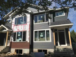 Main Photo: 10342 157 Street in Edmonton: Zone 21 House Half Duplex for sale : MLS®# E4137463