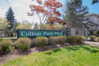 "Photo 1: 303 33708 KING Road in Abbotsford: Poplar Condo for sale in ""COLLEGE PARK"" : MLS®# R2363070"