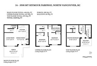 Photo 28: 14 3508 MT SEYMOUR Parkway in North Vancouver: Northlands Townhouse for sale : MLS®# R2461014