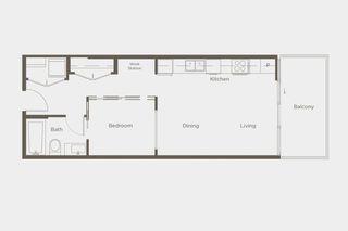 "Photo 2: 110 9060 UNIVERSITY Crescent in Burnaby: Simon Fraser Univer. Condo for sale in ""ALTITUDE"" (Burnaby North)  : MLS®# R2470226"