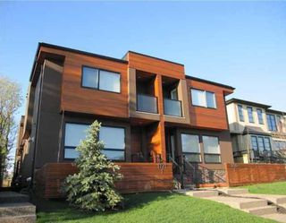 Main Photo: 1 1723 36 Avenue SW in CALGARY: Altadore_River Park Townhouse for sale (Calgary)  : MLS®# C3599137