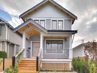 Photo 1: 1522 E PENDER Street in Vancouver: Hastings House 1/2 Duplex for sale (Vancouver East)  : MLS®# R2122104