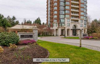 "Photo 1: 801 6837 STATION HILL Drive in Burnaby: South Slope Condo for sale in ""Claridges"" (Burnaby South)  : MLS®# R2239068"