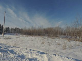 Main Photo: 40 52318 RGE RD 25 Road: Rural Parkland County Rural Land/Vacant Lot for sale : MLS®# E4098640