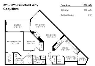 """Photo 20: 328 3098 GUILDFORD Way in Coquitlam: North Coquitlam Condo for sale in """"Marlborough House"""" : MLS®# R2367049"""