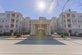 """Photo 1: 328 3098 GUILDFORD Way in Coquitlam: North Coquitlam Condo for sale in """"Marlborough House"""" : MLS®# R2367049"""
