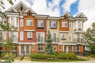 "Photo 1: 44 8068 207 Street in Langley: Willoughby Heights Townhouse for sale in ""Willoughby"" : MLS®# R2410149"