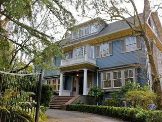 Photo 1: 1626 LAURIER Avenue in Vancouver: Shaughnessy House for sale (Vancouver West)  : MLS®# V995020