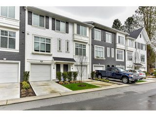 "Photo 1: 29 18681 68 Avenue in Surrey: Clayton Townhouse for sale in ""Creekside"" (Cloverdale)  : MLS®# R2043550"