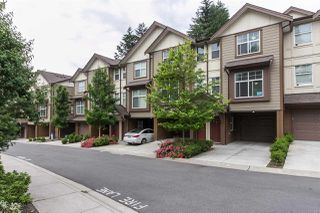 "Photo 1: 11 33860 MARSHALL Road in Abbotsford: Central Abbotsford Townhouse for sale in ""MARSHALL MEWS"" : MLS®# R2075997"