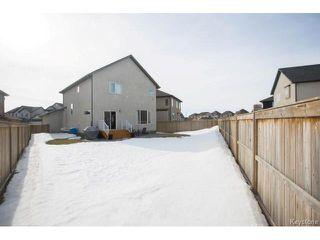 Photo 19: 198 Moonbeam Way in Winnipeg: Sage Creek Residential for sale (2K)  : MLS®# 1703291