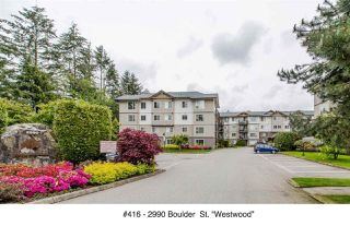 "Photo 1: 416 2990 BOULDER Street in Abbotsford: Abbotsford West Condo for sale in ""WESTWOOD"" : MLS®# R2167496"