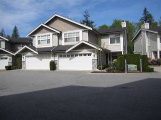 Photo 1: 14 23343 KANAKA WAY in Maple Ridge: Cottonwood MR Townhouse for sale : MLS®# R2164779