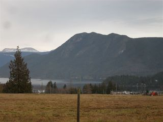 "Main Photo: LOT 12 CROWSTON Road in Sechelt: Sechelt District Home for sale in ""ABOVE THE SHORES"" (Sunshine Coast)  : MLS®# R2329648"