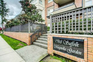"Photo 2: 203 1988 SUFFOLK Avenue in Port Coquitlam: Glenwood PQ Condo for sale in ""MAGNOLIA GARDENS"" : MLS®# R2362588"